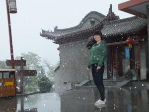 崆峒山雪景-李檬